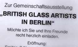 Glaskunst Modeschmuck Großhandel Ausstellung