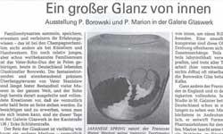Modeschmuck Glasschmuck Glaskunst Ausstellung Dichroic