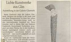 Glaskunst enlightened Unikatschmuck Modeschmuck