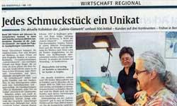 Glasschmuck Modeschmuck Hersteller Germersheim Dichroic Unikatschmuck